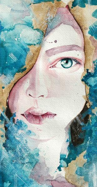 Акварельные портреты Молли Брилл. Изображение № 5.
