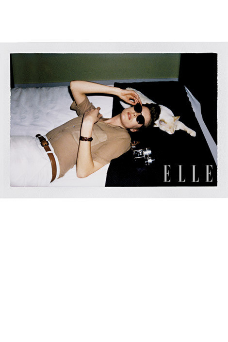 Изображение 12. Джеймс Франко снял Агнесс Дейн для Elle.. Изображение № 11.