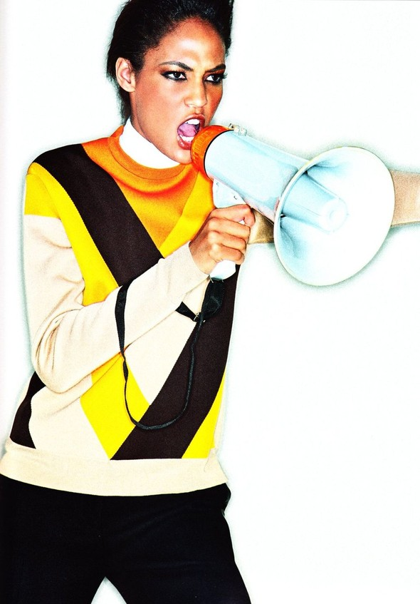Съёмка: Джоан Смоллс для Elle. Изображение № 4.