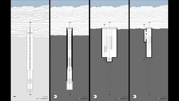 Архитектура дня: концепт церкви-креста на отвесной скале. Изображение № 16.