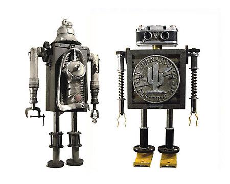 Роботы-скульптуры Gordon Bennett. Изображение № 1.