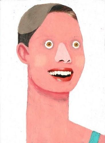 Абсурдные и привлекательные портреты Хуима Тио. Изображение № 12.