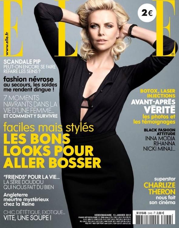 Обложки: Elle и L'Officiel. Изображение № 1.