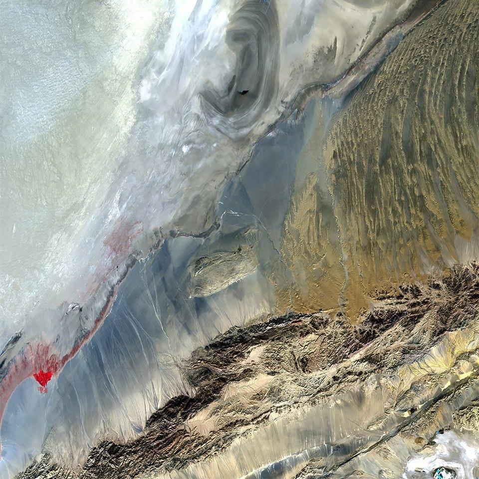 Как выглядит Китай: Сюрреалистичные фотографии из космоса. Изображение № 6.