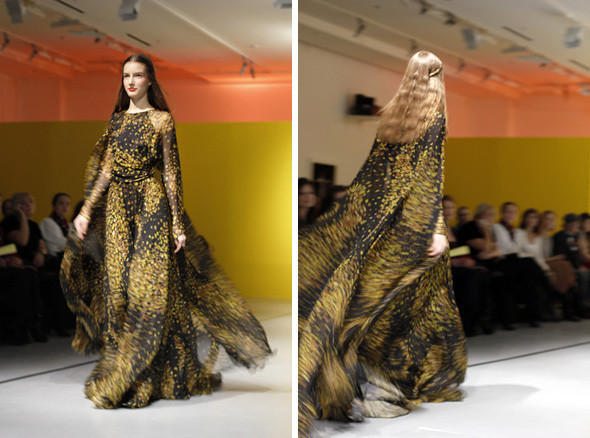 Изображение 2. Lena Vasilyeva FW 2011: готовое платье.. Изображение № 3.