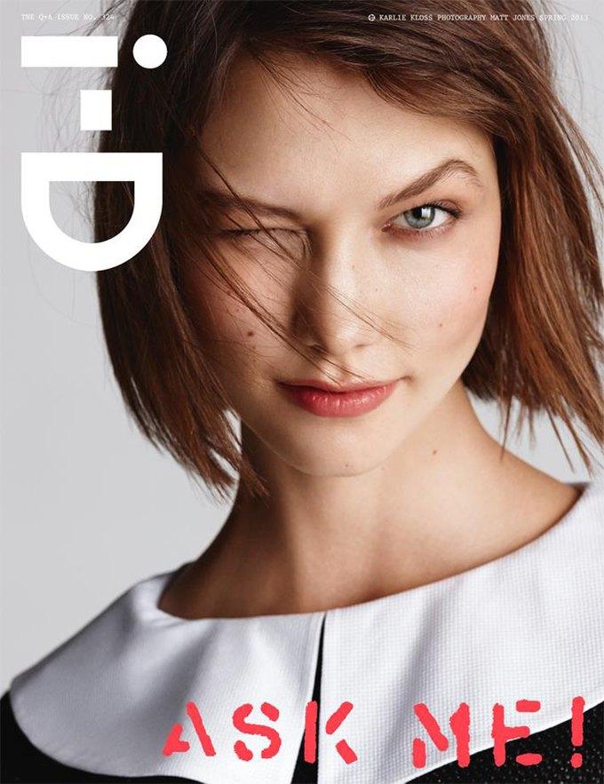 Interview, i-D и Vogue показали новые обложки. Изображение № 3.