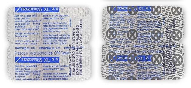Упаковка для лекарств предупреждает об истечении срока годности. Изображение № 1.