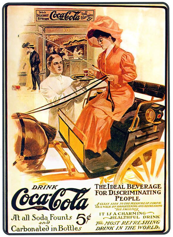 Рекламные плакаты coca-cola. Изображение № 1.