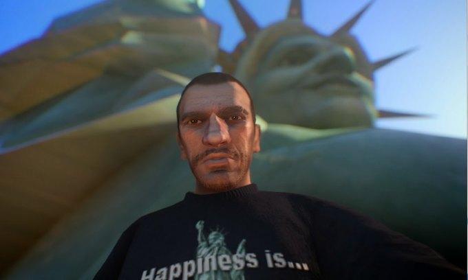Мод позволяет делать селфи в GTA IV . Изображение № 9.