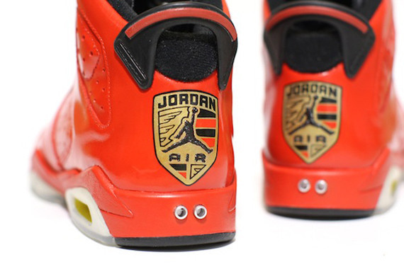 Air Jordan VI Porsche 911 Customs By C2. Изображение № 1.