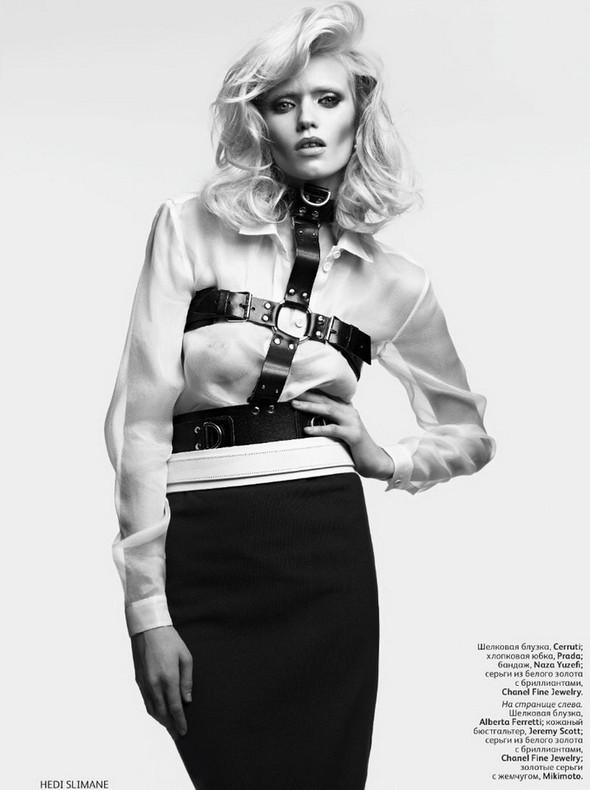 Изображение 3. Эбби Ли Киршоу для апрельского Vogue Russia.. Изображение № 3.