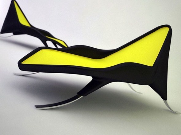 Шезлонг-амфибия от испанского дизайнера. Изображение № 5.