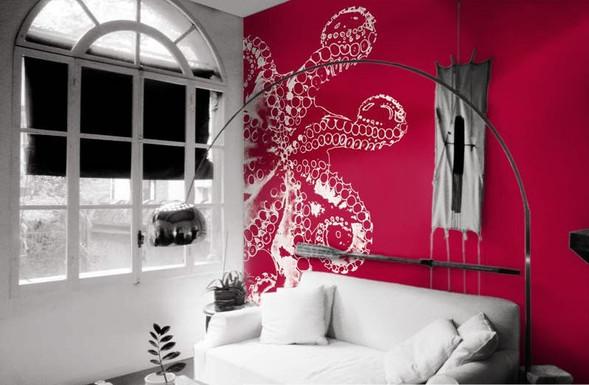 Сколько стоит нарядить стены в нарядные обои?. Изображение № 7.
