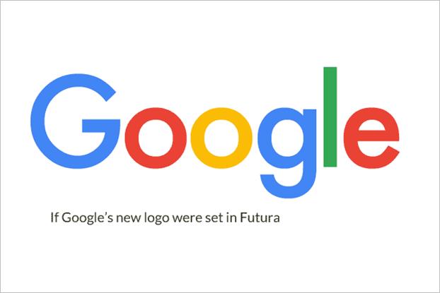 """Слово """"Google"""", написанное шрифтом Futura. Изображение № 2."""