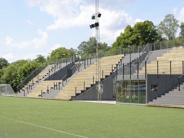 Стадион Lidingövallen авторства DinellJohansson) . Изображение № 27.