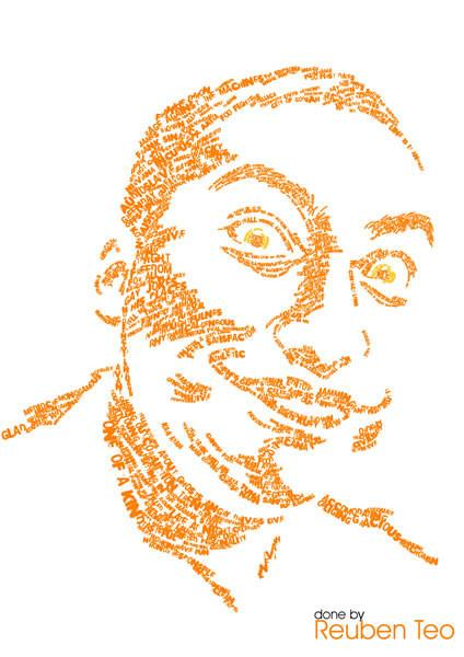 Портреты в типографике. Изображение № 26.