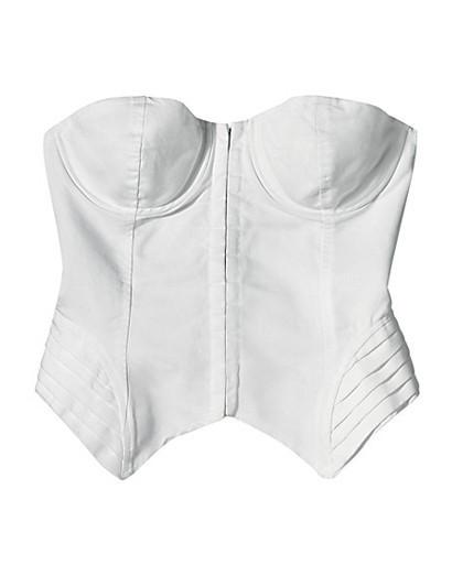 Деним, корсеты, морские принты ипляжная одежда SS2009. Изображение № 3.