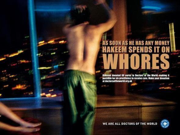 Изображение 7. Реклама против проституции.. Изображение № 28.