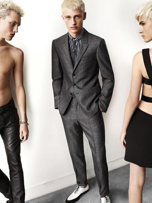 Изображение 23. Мужские рекламные кампании: Mugler, Versace и другие.. Изображение № 2.