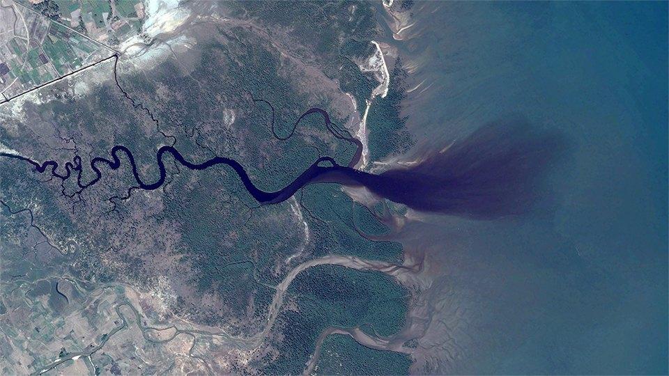35 фотографий  из Google Earth,  которым сложно поверить. Изображение № 16.