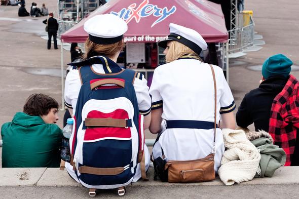Золотые шорты, джинсовые рубашки и шляпы: Люди на фестивале MELT!. Изображение №33.