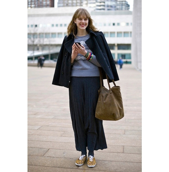 Изображение 15. На полях: 10 тенденций уличного стиля с прошедших недель моды.. Изображение № 15.