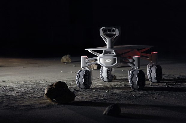 В Audi построили прототип лунохода сполным приводом. Изображение № 1.
