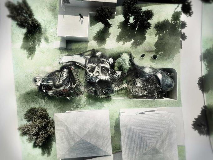 Архитектор предложил концепцию «биологического» дома. Изображение № 11.