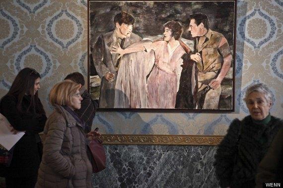 В Милане открылась выставка картин Боба Дилана. Изображение № 3.