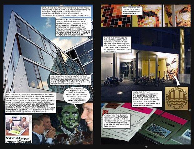 Дом для Супермена: комиксы Ле Корбюзье, Рема Колхаса и других знаменитых архитекторов. Изображение № 18.