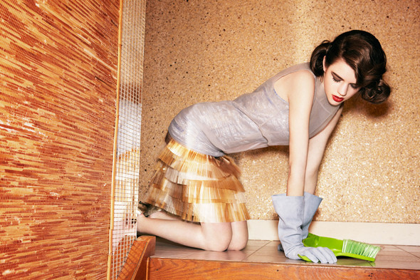 Съёмки: Elle, Vogue и другие. Изображение № 17.