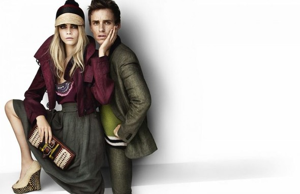 Eddie Redmayne and Cara Delevingne. Изображение № 10.