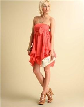 Изображение 8. Коралловое платье.. Изображение № 4.