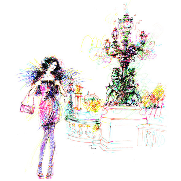 Иллюстрации Antoinette-Fleur. Изображение № 19.
