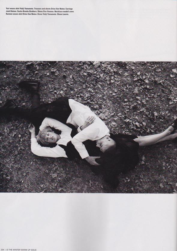 Съёмка: Юрий Плескун и Кармен Педару для i-D. Изображение № 9.