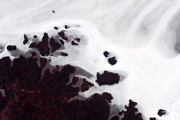 Астронавт выложил абстрактные фотографии Австралии с орбиты. Изображение № 10.