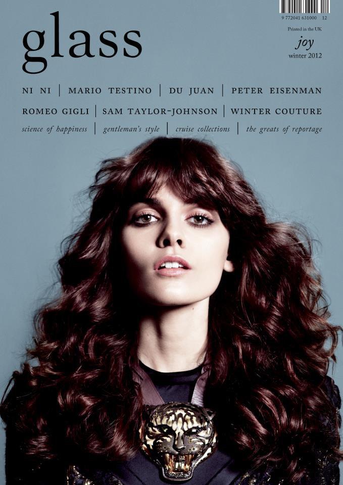 Вышли обложки свежих номеров Vogue, V и Glass. Изображение № 4.