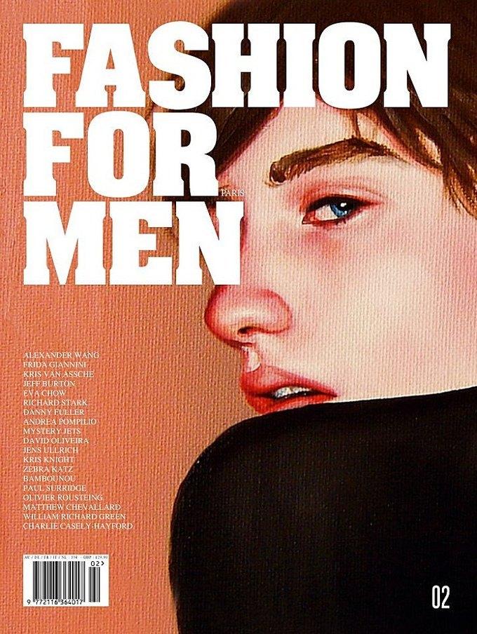 Vogue, Fashion For Men и Man About Town показали новые обложки. Изображение № 5.