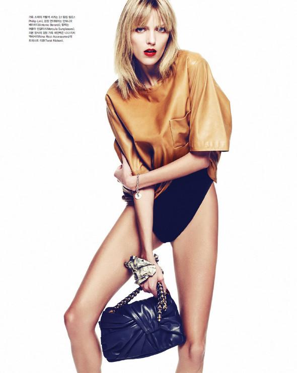 5 новых съемок: Elle, Harper's Bazaar, Numero и Vogue. Изображение № 50.