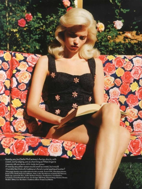Съёмка: Эбби Ли Кершо для Vogue. Изображение № 8.