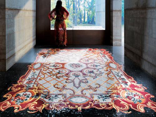 Мозаичные ковры от Sicis. Изображение № 3.