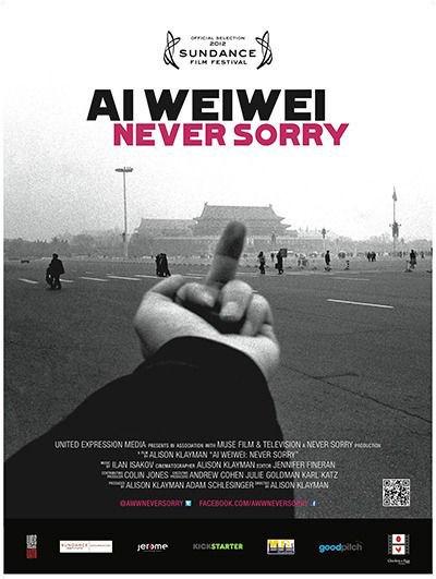 Афиша фильма «Ай Вэйвэй: Никогда не извиняйся». Изображение № 4.