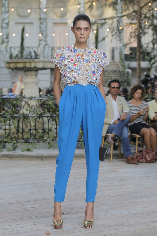Madrid Fashion Week SS 2013: DELPOZO . Изображение № 26.