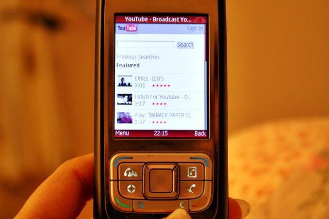 Opera Mini на телефоне Nokia E65 в 2009 году. Изображение № 1.