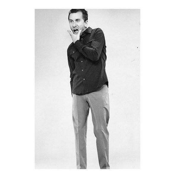 Архивная съёмка: Тим Рот для кампании Prada SS 1996. Изображение № 8.