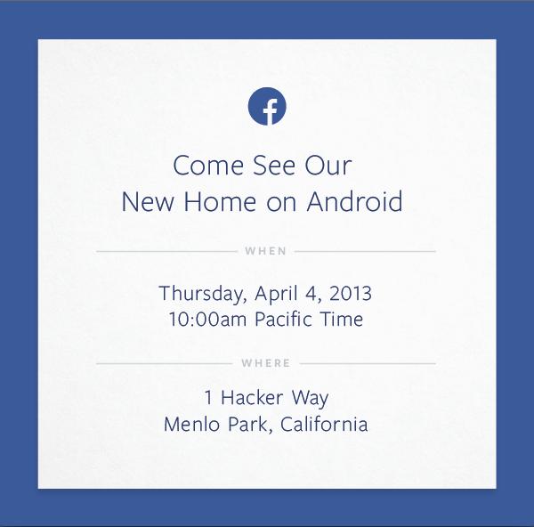 «Фейсбук» представит «новый дом на Android». Изображение № 1.