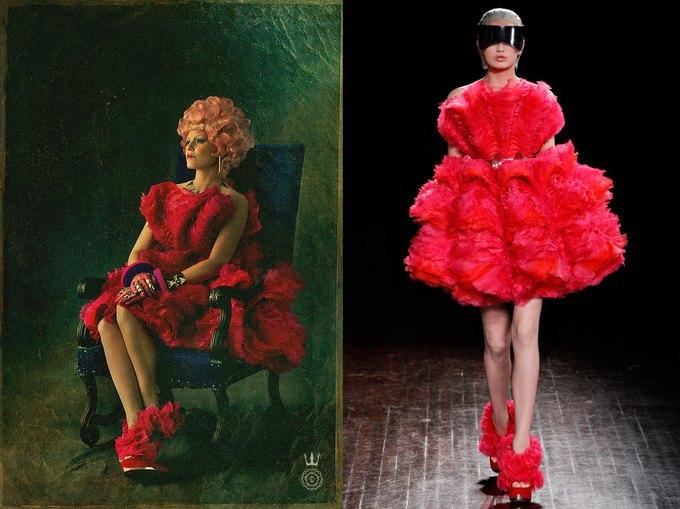 Во второй части «Голодных игр» появятся платья Alexander McQueen. Изображение № 1.
