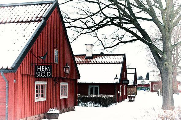 Классический красный дом на пути из Wreta в Эскильстуну. Изображение № 62.