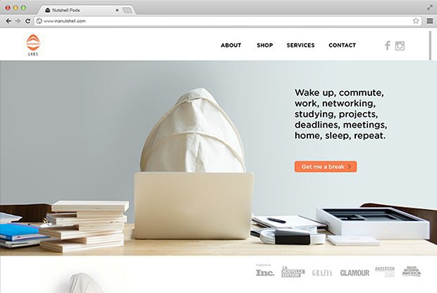 Дизайнер создал портативный кокон для отдыха на людях. Изображение № 4.