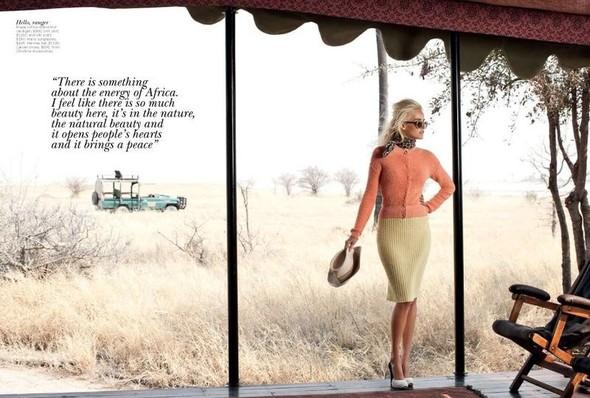 Съёмка: Изабель Лукас для австралийского Vogue. Изображение № 4.